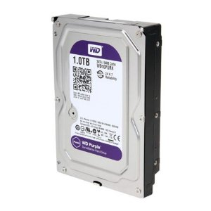 HD Sata Western Digital WD Purple 1TB - WD10PURX para CFTV - INTELBRAS