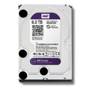 HD Sata Western Digital Intelbras WD Purple 6TB - WD60PURX