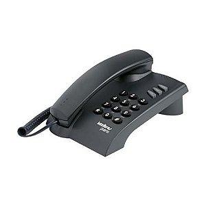 Telefone Com Fio TC 500 com Chave Preto - Intelbras