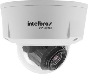 Camera Infra Dome IP VIP E4220Z IR 20M 2.0 MP Lente VF 3 A 9MM - Intelbras