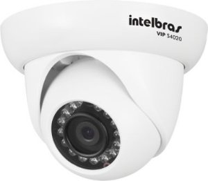 Camera Infra Dome IP VIP S4020 IR 20M 1.0 MP Lente 2.8MM POE G2  - Intelbras