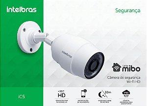 Câmera de Segurança Wi-Fi HD iC5 - Intelbras