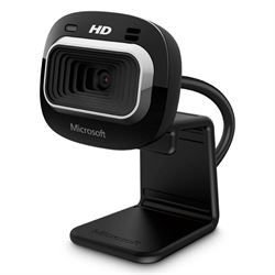WebCam Microsoft LifeCam HD-3000 USB 720p Preta - T3H-00011