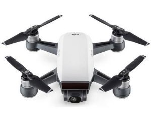 Drone DJI Spark Alpine White BR 12MP 2-Axis 16 Min 50km/h 30m