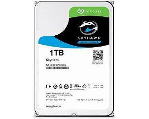 HD Interno Seagate Surveillance SkyHawk 1TB SATA 64MB 3.5 5900RPM (ST1000VX005)