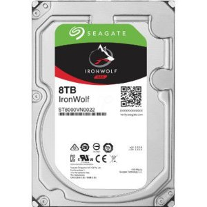 HD Interno Seagate NAS IronWolf 8TB SATA 256MB 3.5 7200RPM (ST8000VN0022)