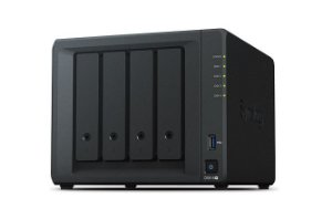 Storage NAS Synology DiskStation DS918+ 4 Baias (expansível a 9 baias) - Sem Disco