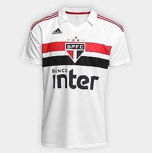 Camisa São Paulo I 18 19 S Nº Torcedor Adidas Masculina Branco 803e876d9cdc7