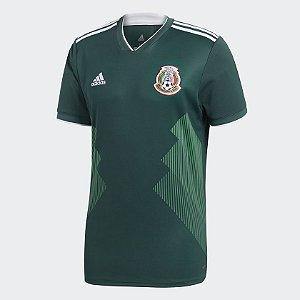 Camisa Seleção México Home 2018 s/n° Torcedor Adidas - Verde
