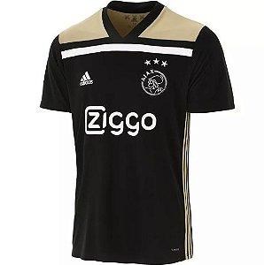 Camisa Ajax Nova 18/19 Lançamento Preta Away