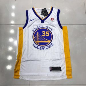 CAMISA GOLDEN STATE NBA - Durant - Branca