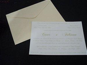Convite de Papel