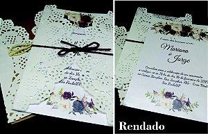 Convites de R$ 3,00