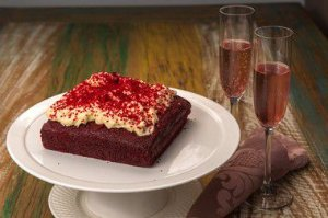 Bolo Red Velvet com Creamcheese Frosting