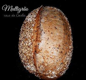 Pão Multigrãos com Fermento Natural