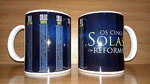 Caneca - Os Cinco Solas da Reforma
