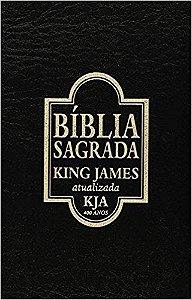 Bíblia King James Atualizada - Edição Exclusiva (Português) Imitação de couro