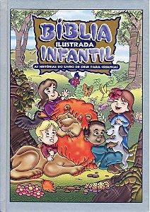 Bíblia Ilustrada Infantil Prata | Geográfica