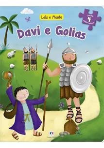 DAVI E GOLIAS - Ciranda Cultural editora -  LEIA E MONTE