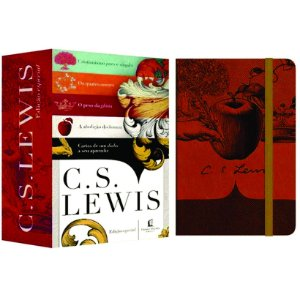 Box 05 Livros – Edição Premium + Caderno Moleskine Exclusivo – C. S. Lewis