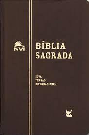 Bíblia NVI Média - Semi-luxo Marrom