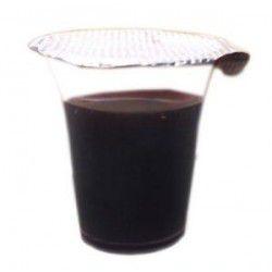 Cálice Descartável, Lacrado com Suco Uva natural - 10ml - Caixa com 48 unidades