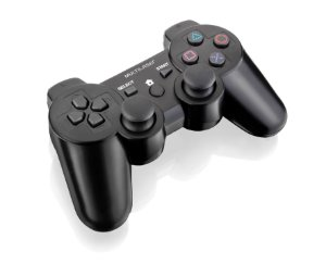 CONTROLE SEM FIO PS3/PS2/PC C/ BATERIA JS072