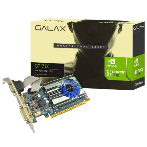 PLACA DE VIDEO GF GALAX GT 710 1GB DDR3 64BIT