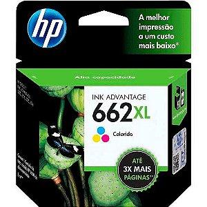 Cartucho Hp 662 XL Colorido Cz106ab