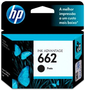 Cartucho Hp 662 Preto Cz103ab