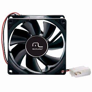 Cooler 80x80 Multilaser Ga044