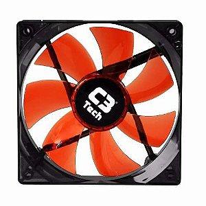 MICROVENTILADOR F7-L100 RED STORM 12CM LED C3T