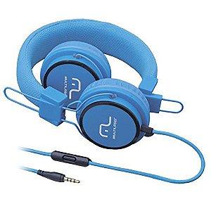Fone De Ouvido Headphone Fun Azul Multilaser Ph089
