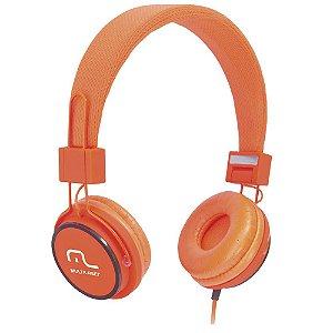 Fone De Ouvido Headphone Fun Laranja Ph086