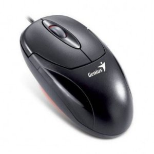 Mouse PS2 Óptico Genius 3btns Black Xscroll31