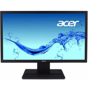 Monitor Led Acer 19,6  Hd V206hql Preto
