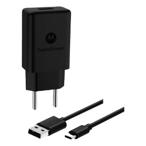 Carregador Motorola Turbo Power 15w Tipe C