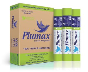 Lençol de Papel Hospitalar Eco - Plumax