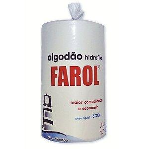 Algodao Hidrófilo 500g - Farol