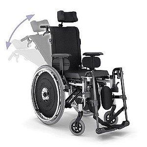 Cadeira de Rodas AVD Reclinável com Opcionais - Ortobras