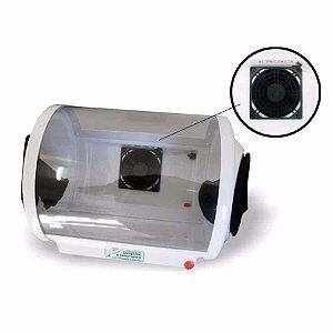 Câmara de Desgaste e Jateamento com Iluminação e Exaustor - Biotron