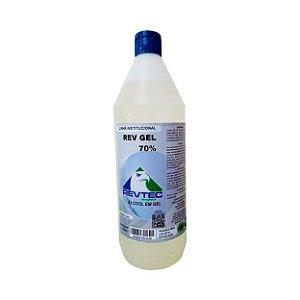 Kit Álcool em Gel 70% 1L - 12un