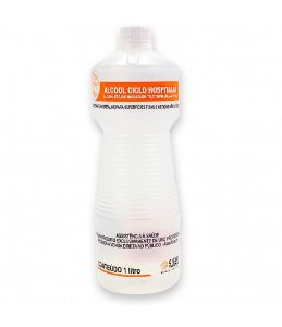Kit álcool líquido 70% - 12un