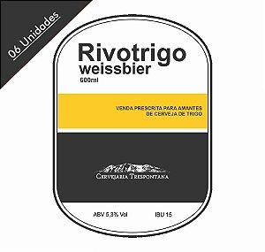 Caixa com 06 Cervejas Trespontana Rivotrigo Weissbier