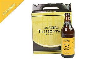 Kit para Presente com 03 Cervejas Trespontana 3Pontas Pilsen