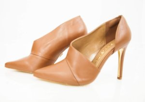 Bota Ankle Boot Vegetalle Cacau - Di Valentini