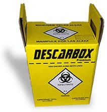 Coletor de Mat Perfurocortante 3L - Descarbox
