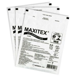 Luva Cirurgica 7.5 c/pó (Par) - Maxitex