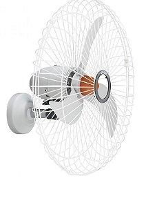 Ventilador de parede 70cm oscilante 127V Branco GOAR V70