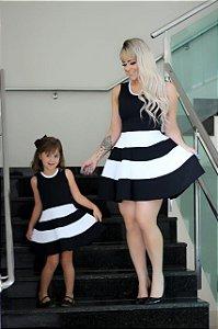 Tal mãe, Tal filha Vestido listras duas cores